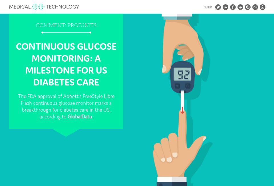 Continuous Glucose Monitoring A Milestone For Us Diabetes