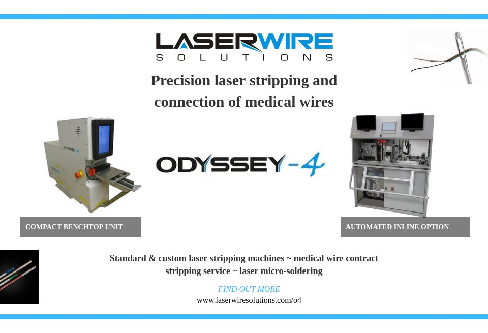 Laser Wire Solutions Medical Technology Issue 20