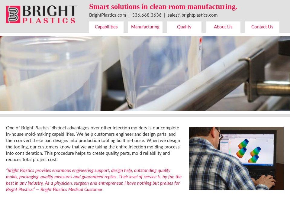 Bright Plastics - Medical Technology | Issue 19 | September 2019